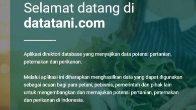 Datatani.com Aplikasi Data untuk Petani dan Peternak