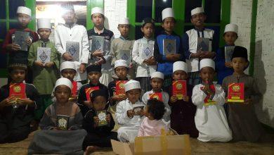 Donasi Al-Quran dan Iqra Kawan-Kawan Vespa Sukabumi