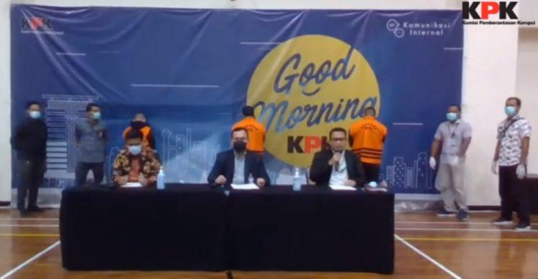 KPK mengumumkan OTT Kemensos Bagian Korupsi Menteri Sosial