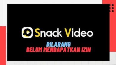 Aplikasi Snack Video Dilarang