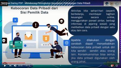 Kebocoran Data Pribadi BPJS Kesehatan. Gambar Kominfo