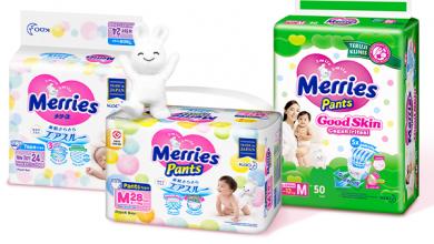 Merries dan menstimulasi kecerdasan bayi