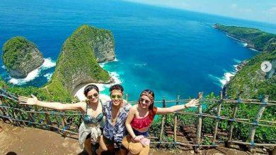 Tempat Wisata Nusa Penida Bali. Sumber: IG @explorenusapenidaku