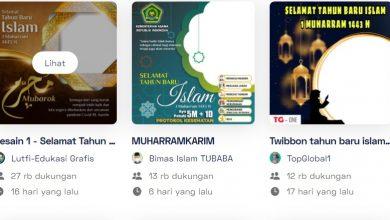 Link Twibbon 1 Muharram 1443 H Tahun Baru Islam 2021