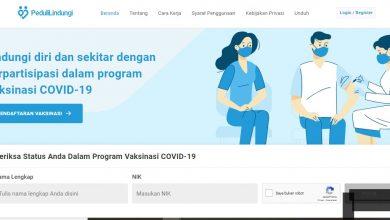 Pendaftaran Vaksin Covid Online