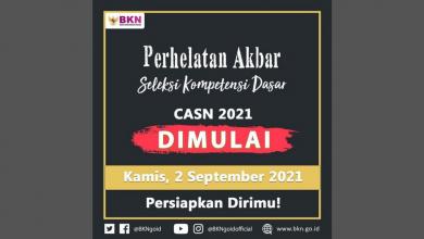 Persyaratan tes SKD CPNS 2 September 2021