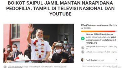 Petisi Boikot Saiful Jamil dari Tampil di Televisi Nasional