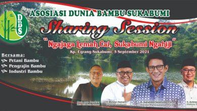 Sandiaga Uno ke Sukabumi Datangi Kampung Egrang Cibiru Cicantayan Sukabumi